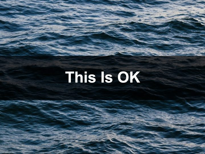 2 Corinthians 12:7-10 – This Is OK