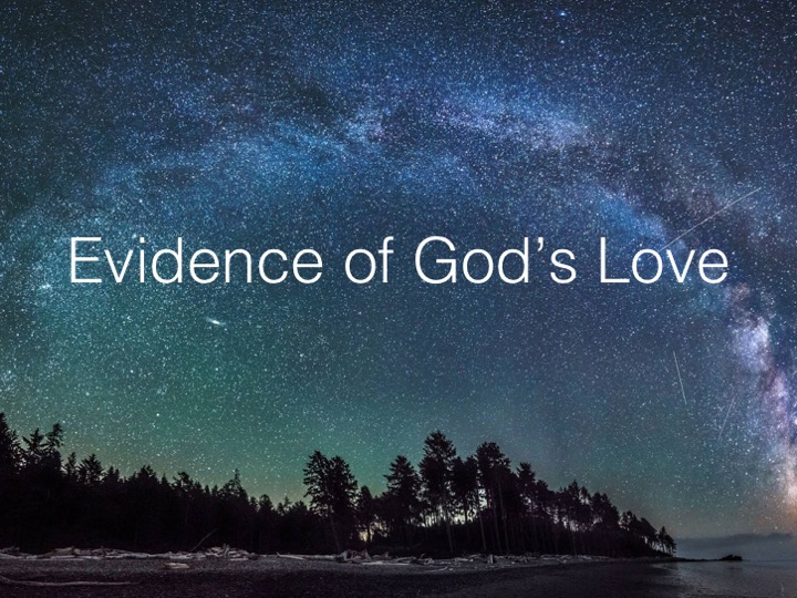 Evidence of God's Love