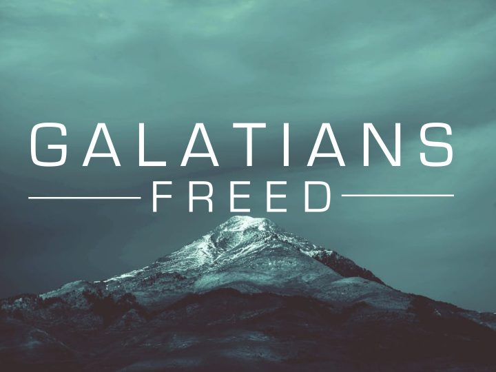 Galatians 6:11-18  – Freed to Repair