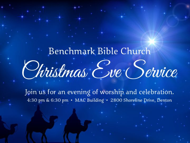 Christmas Eve Service – What Does Christmas Tell Us About God?